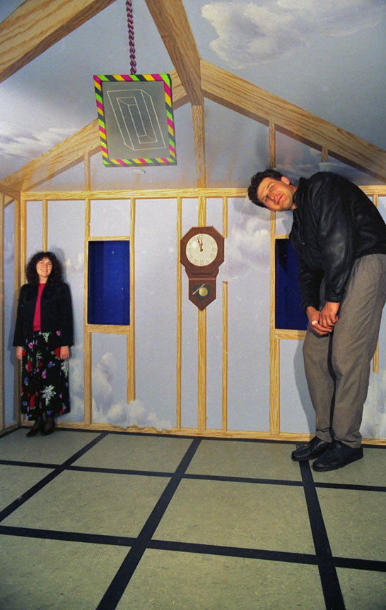 ames room david roberts scenographer